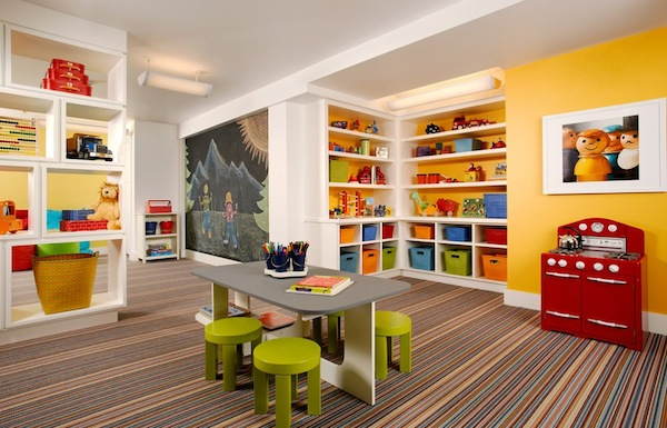 Kids Basement Playroom Ideas 600 x 385