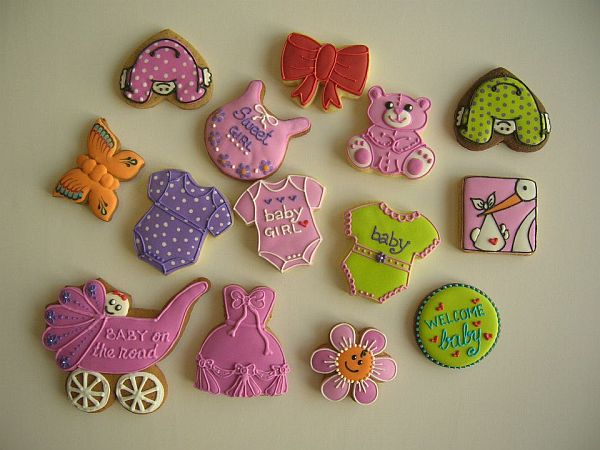 decorated cookies for babies events