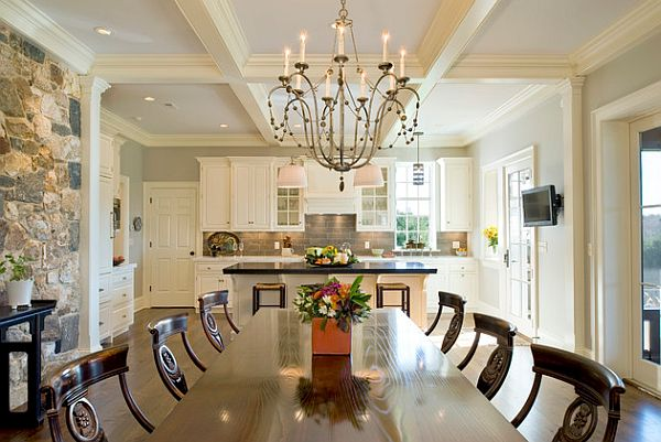 5 inspiring ceiling styles for your dream home for Aluminium kitchen cabinets hyderabad