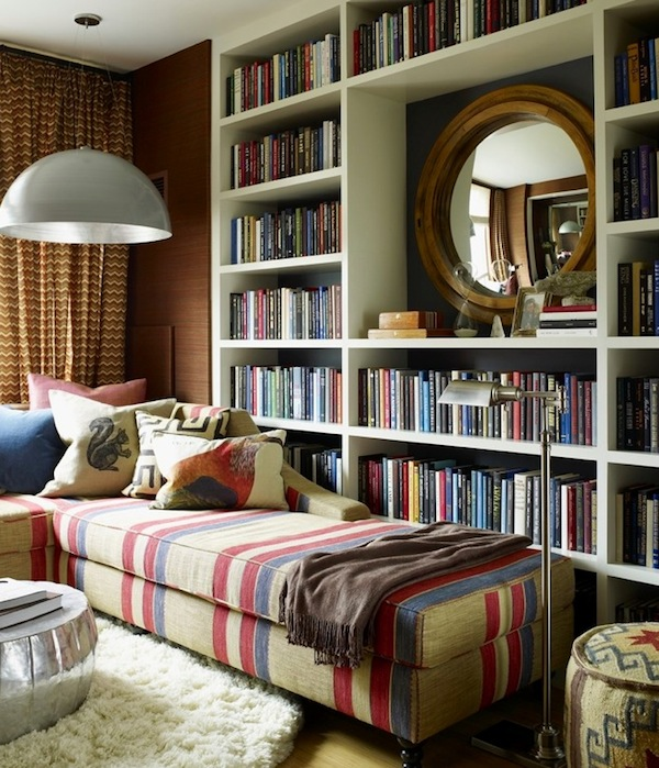 display books bookshelves How To Display Books As Decoration in Your Interiors