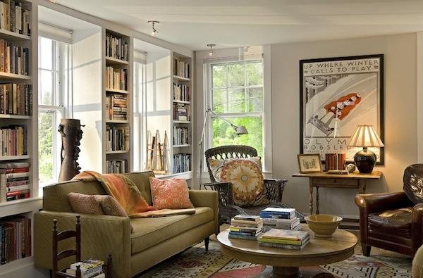 displaying books light bookshelves