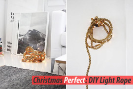 diy rope lights strap