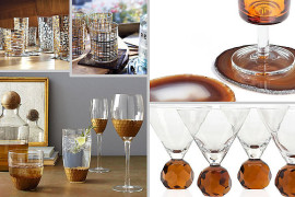Festive Barware for Fall Entertaining
