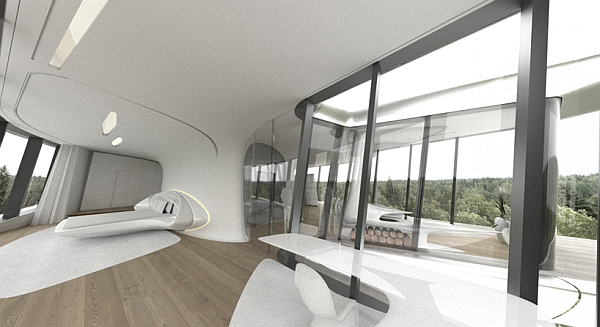 Russian Billionaire Builds Futuristic Spaceship Home For