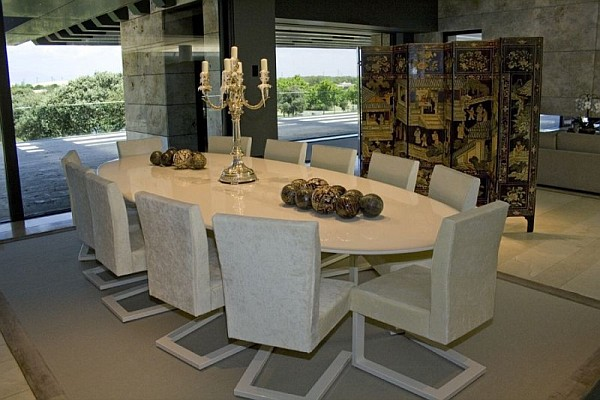 geometric-chairs-and-oval-dining-table