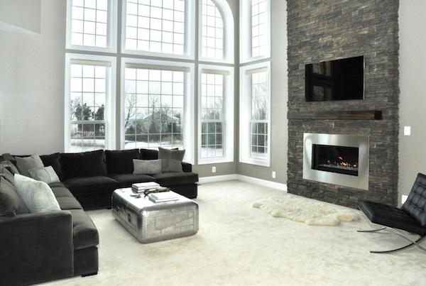 Greige Living Room Decoist