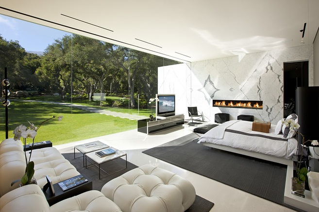 hermann living2 Glass Pavilion, a true vision from Steve Hermann