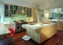 kitchen backsplash artistic