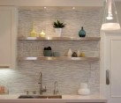 kitchen backsplash sleek modern