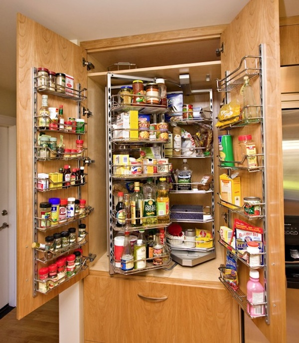 kitchen pantry turn organization