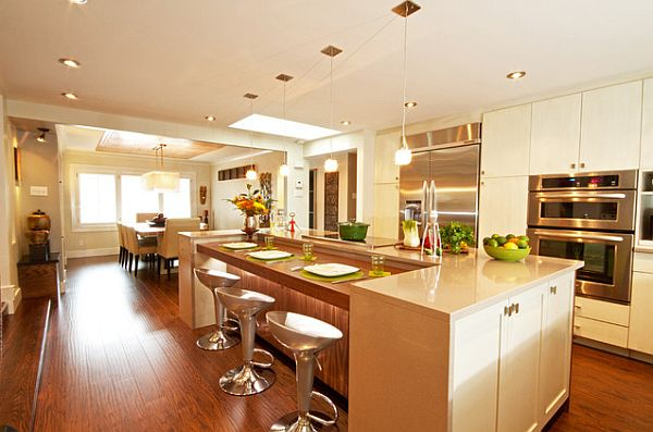 laminate floors in the kitchen How to Clean Laminate Wood Floors the Easy Way
