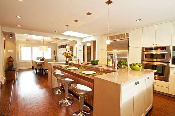 laminate floors in the kitchen