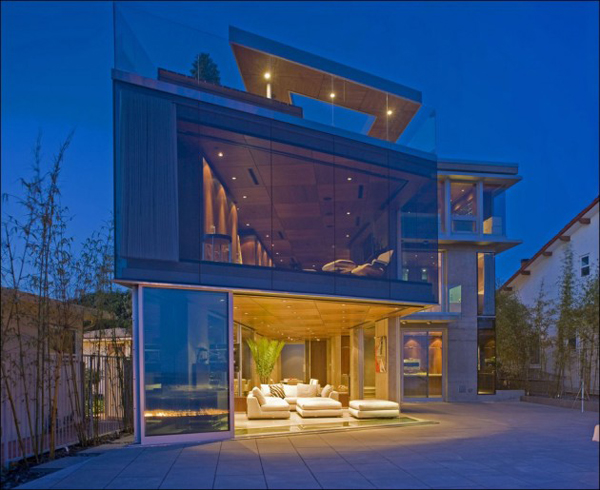 lemperle entrance1 California Dreamy Home Overlooking the Ocean, by Jonathan Segal
