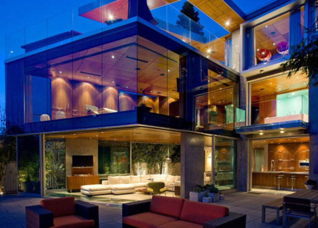 California Dreamy Home Overlooking the Ocean, by Jonathan Segal
