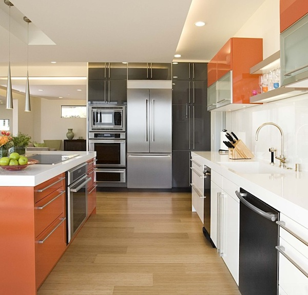Dark Kitchen Cabinets Light Floors: Light Or Dark Wood Flooring