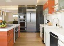 Light Hardwood Flooring Kitchen Idea