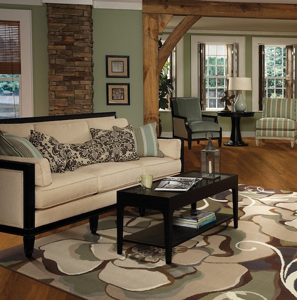Light or dark wood flooring which one suits your home - Dark hardwood floor living room ideas ...