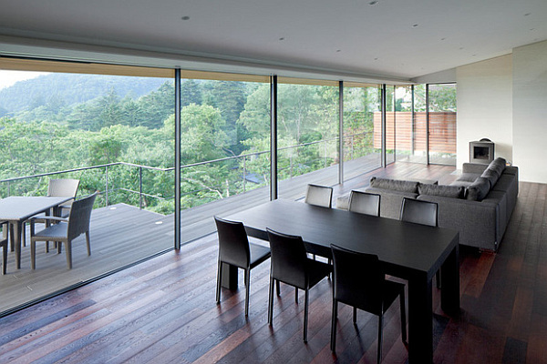 Cantilevered contemporary japanese home by kidosaki architects - Casas japonesas modernas ...