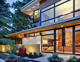 Striking Luxurious & Sustainable Home on Caruth Boulevard in Dallas
