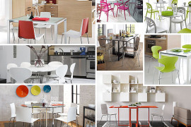 modern kitchen tables and chairs