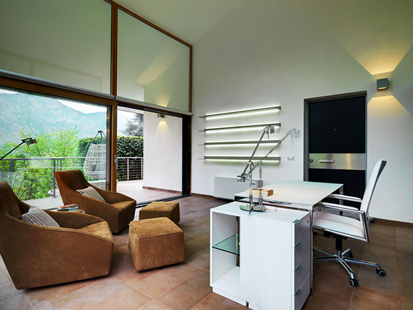 mountain views home office