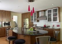 round kitchen bar
