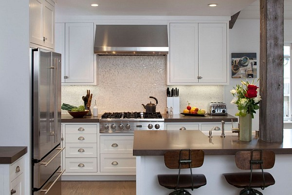 Old bungalow in california gets contemporary makeover for California kitchen design ideas