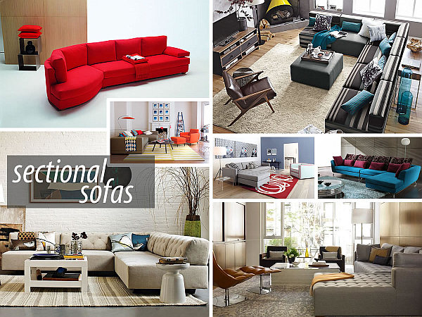 sectional sofas 20 Modern Sectional Sofas for a Stylish Interior