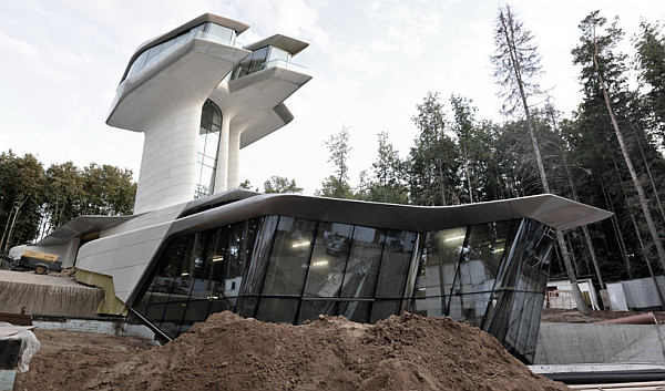spaceship house for Naomi Campbell Russian Billionaire Builds Futuristic Spaceship Home for Naomi Campbell