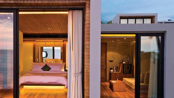 stunning modern beach villa