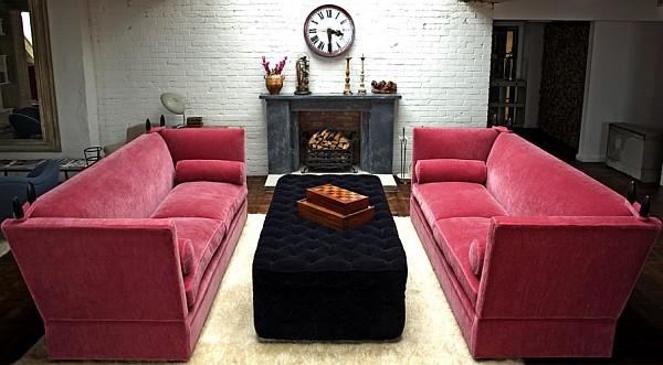 stylish-Pink-Knole-Sofa