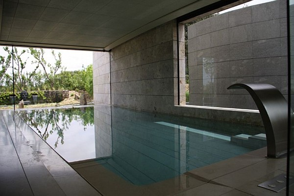 stylish lap pool