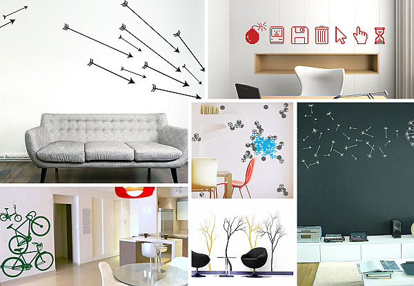 stylish wall art decals