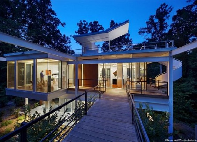 Modern Makeover For a Mid-century Home: Chiles Residence
