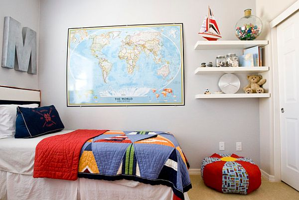 How to use old maps in home decor view in gallery teenager room with world gumiabroncs Gallery
