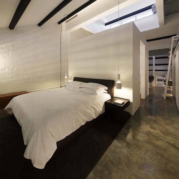 Apartment With Loft Bedroom Bedroom Door Handles Elegant Bedroom Curtains Houzz Bedrooms For Girls: Modern Industrial Loft In Singapore Gets Revitalizing Facelift