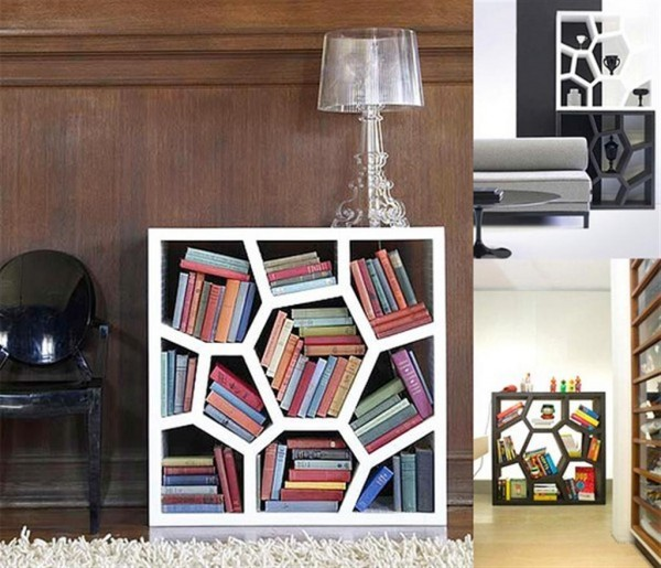 6 Incredible Examples Of Shelving In Small Spaces