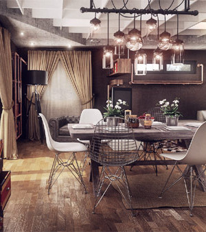 A designer's rendition of modern home in Ploiesti