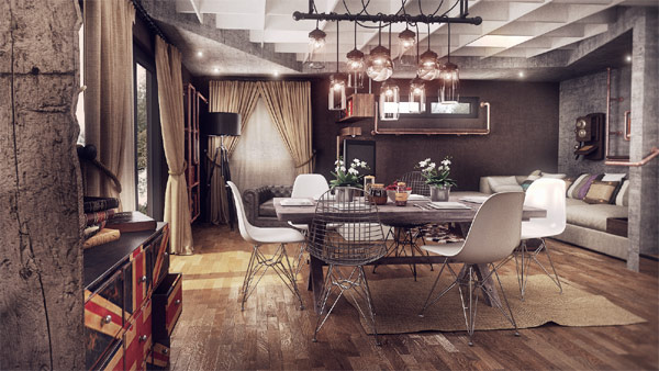 A designers rendition of modern home in Ploiesti Modern Romanian Home Design Fuses Vintage With Contemporary Class