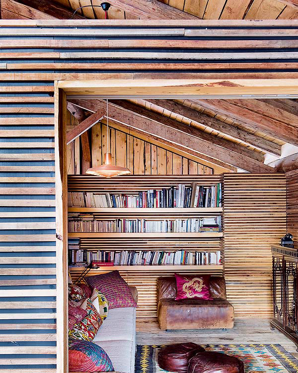 Ample storage space in the traditional villa