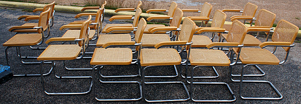 An army of Ceska chairs