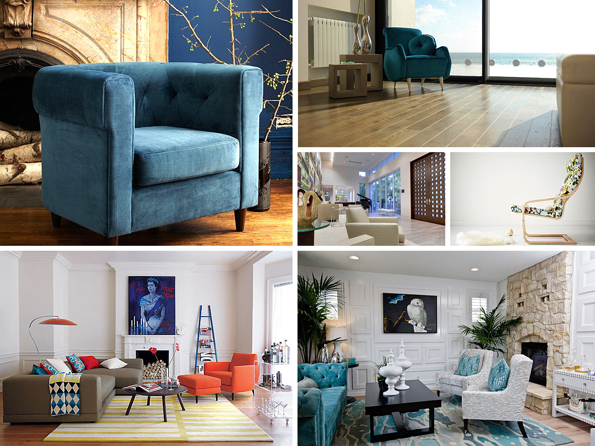 Armchairs That Blend Comfort and Style 21 Gorgeous Armchairs That Blend Comfort and Style
