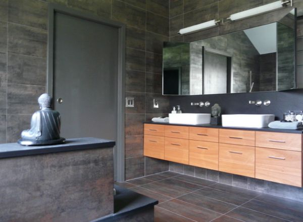 ... Asian Bathroom Design With A Peaceful And Soothing Effect
