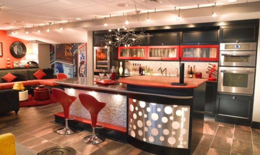 40 Inspirational Home Bar To Design For A Stylish Modern Home