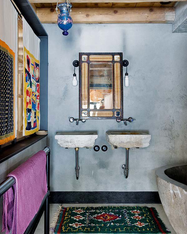 Bathrooms that take you back in time