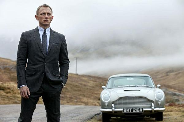 Bond at the Skyfall Estate