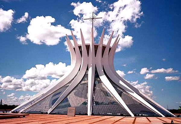 Brasilia Cathedral by Niemeyer