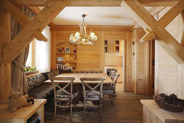 Casa Cojana - dining room