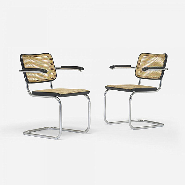 View in gallery Ceska chairs by Marcel Breuer Cesca ...