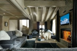 Luxurious Black Pearl Chalet For Stunning Holidays in the French Alps